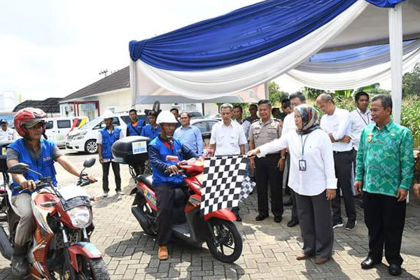 launching one day service pln